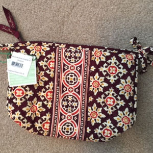 Vera Bradley Medallion Bow Cosmetic Bag